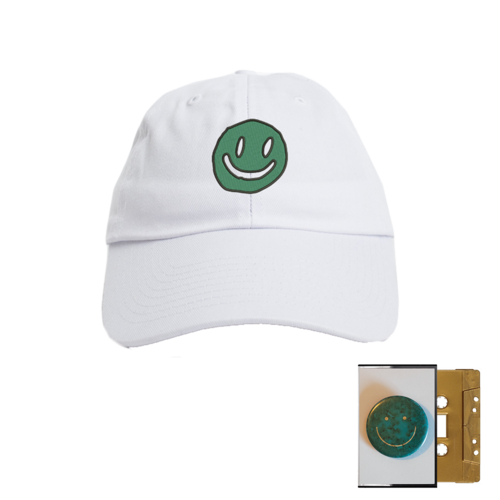 Mac DeMarco: Smiley Face Dad Hat + Gold Cassette