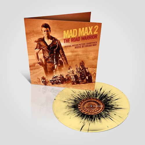 Original Soundtrack: The Road Warrior - Mad Max 2: Sand and Oil Splatter Vinyl [RSD 2019]