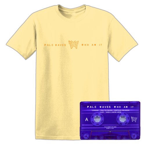 Pale Waves: Orange Tee + Cassette