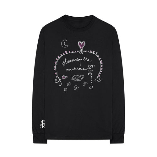 Florence + The Machine: Black Doodle Long sleeve