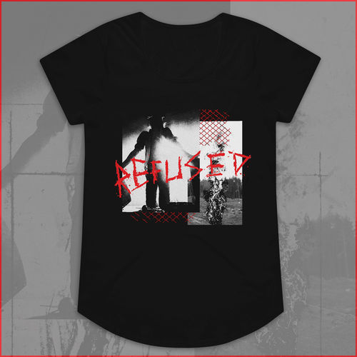 Refused: War Music Womens Black T-Shirt