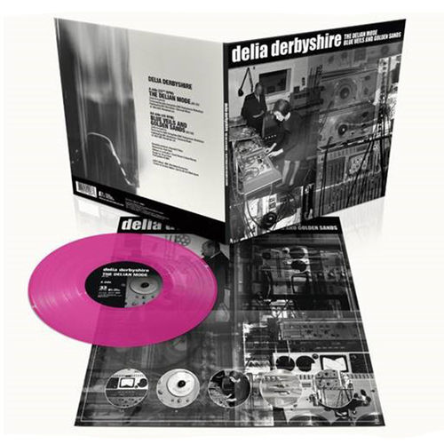 Delia Derbyshire: Delian Mode: Limited Edition Magenta Coloured Vinyl