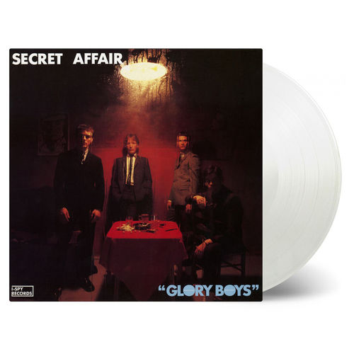 Secret Affair: Glory Boys: Limited Edition Transparent Vinyl