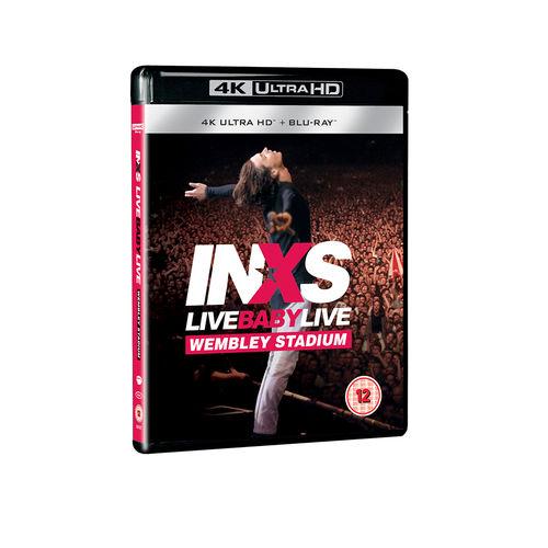 INXS: Live Baby Live: 4K UHD Blu-Ray