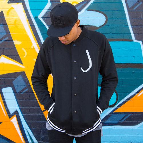 Justin Bieber: JB Varsity Jacket - Black - Medium