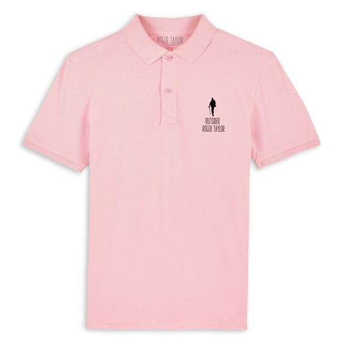 Roger Taylor: Outsider Embroidered Polo Shirt