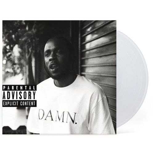 Kendrick Lamar: DAMN (Collectors Edition): Clear Vinyl