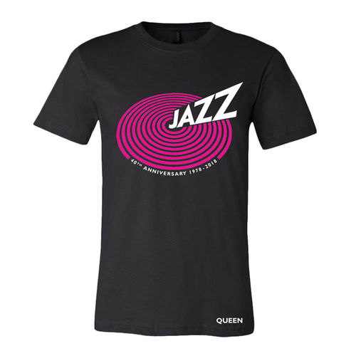 Queen: 'Jazz' 40th Anniversary Unisex Black