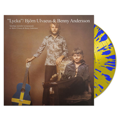 Björn Ulvaeus: Lycka - Limited Edition - Blue And Yellow Vinyl