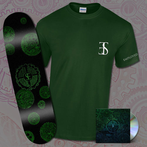 Employed To Serve: CD & Skate Deck & Tee Bundle