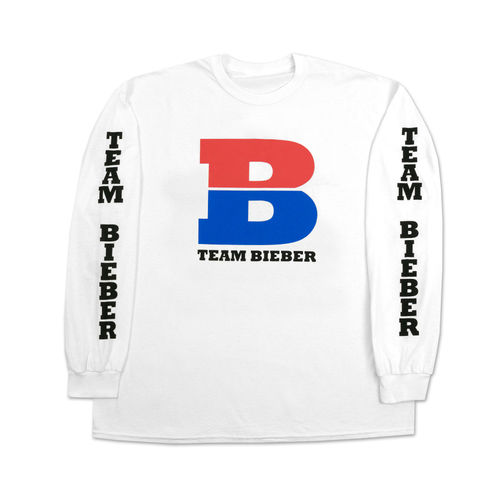 Justin Bieber: Team Bieber Long Sleeve T-Shirt