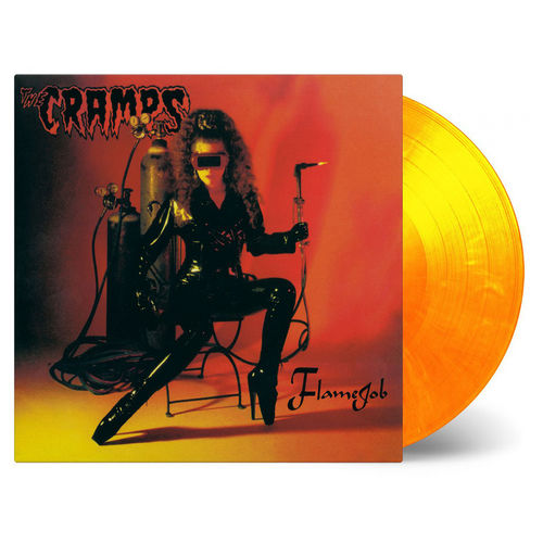 The Cramps: Flamejob: Limited Edition Coloured Vinyl