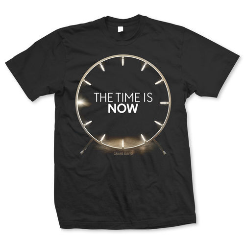 Craig David: The Time is Now Album T-Shirt