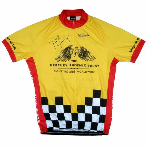 Freddie For A Day: Mercury Phoenix Trust Cycling Shirt - Men's Medium