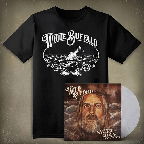 The White Buffalo: On The Widow's Walk Vinyl & T-Shirt Bundle