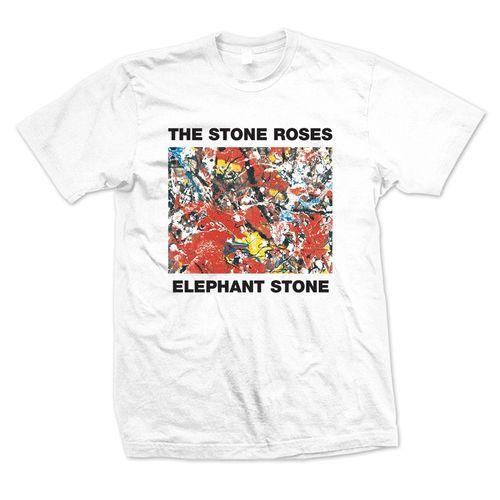 The Stone Roses: Elephant Stone White T-Shirt