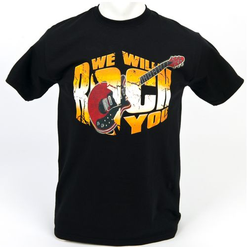 We Will Rock You: We Will Rock You 2013 Tour Guitar T-Shirt - Small