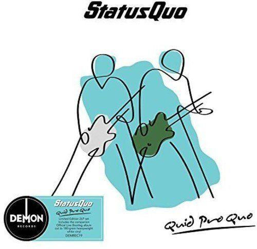 Status Quo: Quid Pro Quo: White Deluxe Edition Vinyl