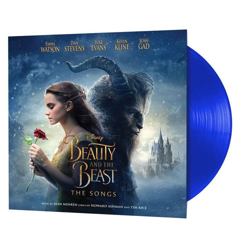 Various Artists: Beauty And The Beast (Blue Vinyl)