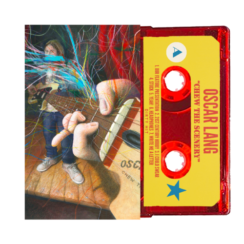 Oscar Lang: Chew The Scenery Red Cassette - DH Store Exclusive
