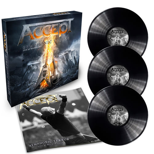 Accept: Symphonic Terror – Live At Wacken 2017: Limited Edition Vinyl Box Set