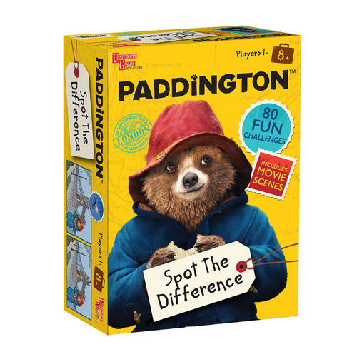 Paddington Bear: Paddington Spot The Difference Game