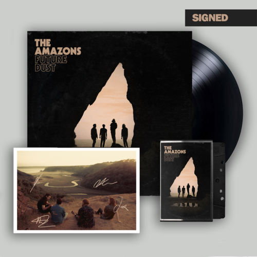 The Amazons: Deluxe LP, Cassette & Signed Postcard