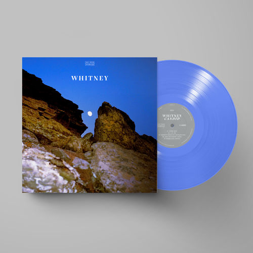 Whitney: Candid: Limited Edition Blue Glass Vinyl