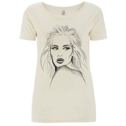 Adele: Sketch T-Shirt