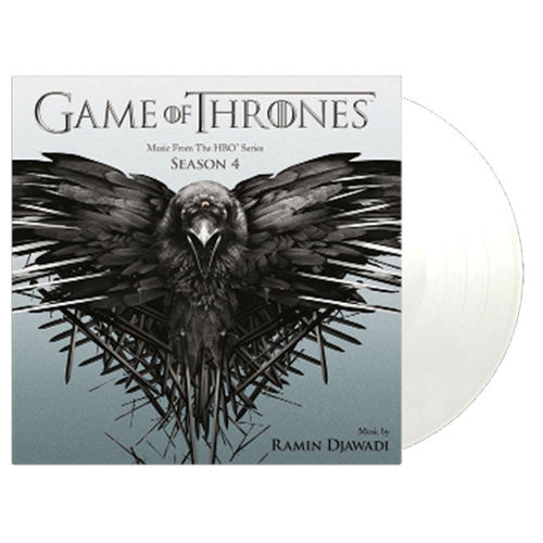 Original Soundtrack: Game Of Thrones Season 4 (White Tour Edition): Limited Edition White Vinyl