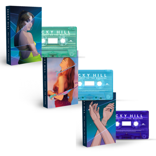 Becky Hill: Only Honest On The Weekend: Signed Cassette Bundle