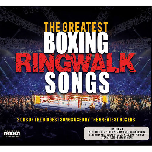 Various Artists: The Greatest Boxing Ringwalk Songs