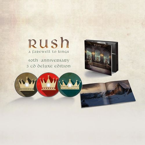 Rush: A Farewell To Kings: 40th Anniversary