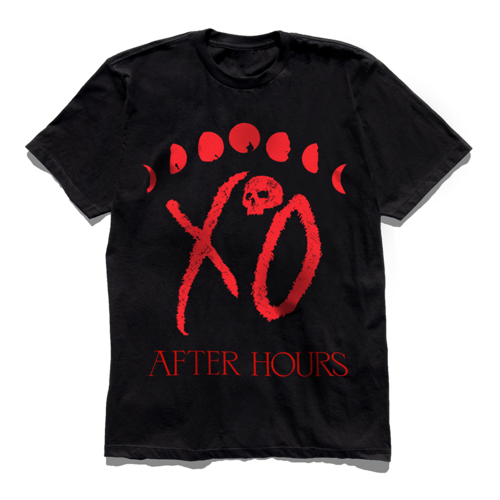 The Weeknd: XO MOON PHASE TEE