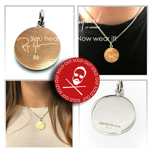Roger Taylor: 'Taylored Signature' Cymbal Pendant
