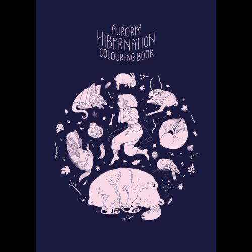 aurora: AURORA's Hibernation Colouring Book
