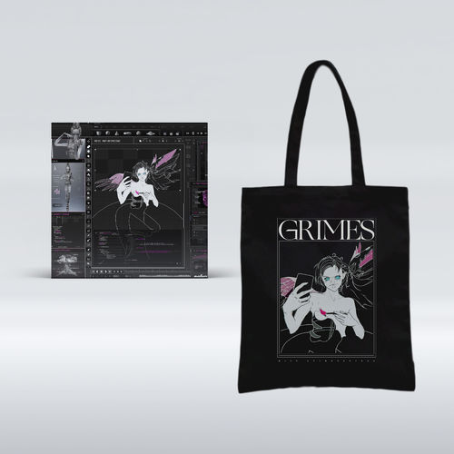 Grimes: Miss Anthropocene CD + Exclusive Tote Bag