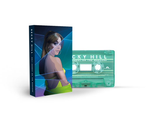 Becky Hill: Only Honest On The Weekend Signed Cassette 1