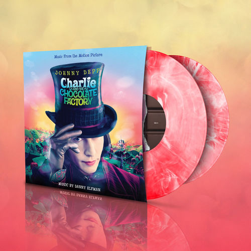 Original Soundtrack: Charlie and The Chocolate Factory: Red & White Marbled Vinyl