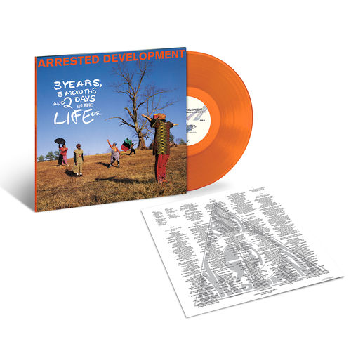 Arrested Development: 3 Years, 5 Months & 2 Days in the Life Of (Clear Orange Vinyl)