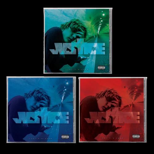 justin bieber: JUSTICE ALTERNATE COVER I , II & III