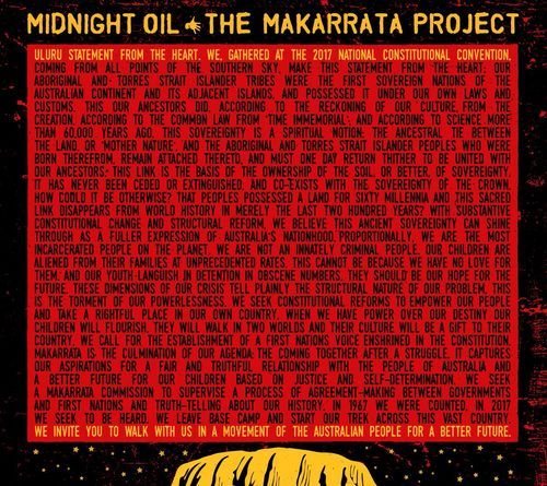 Midnight Oil: The Makarrata Project