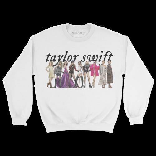 Taylor Swift: Taylor Swift Eras Crewneck