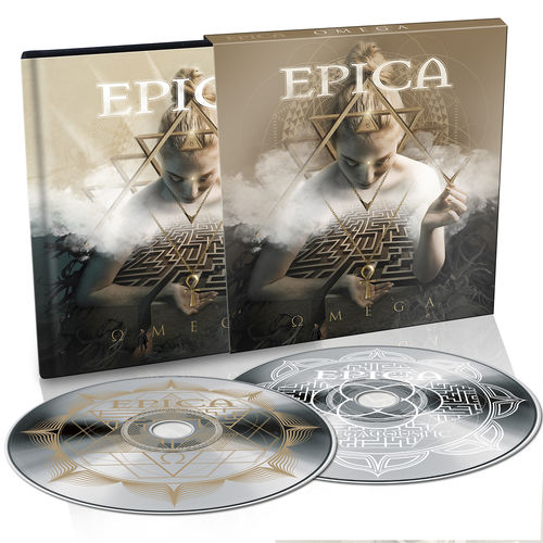 Epica: Omega: Limited Edition 2CD Digibook + Signed Photocard