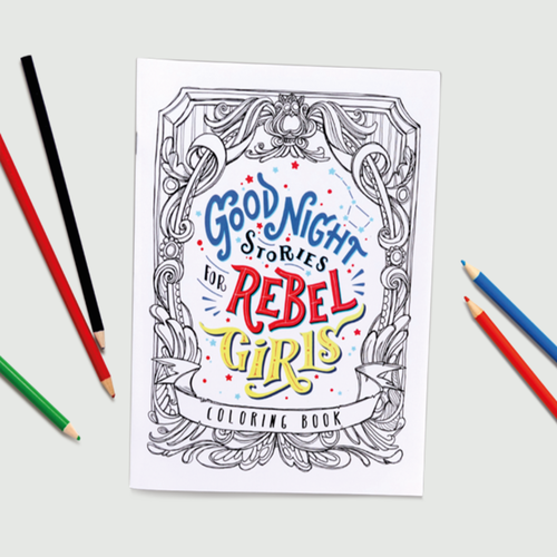 Rebel Girls: REBEL GIRLS COLORING BOOK SET