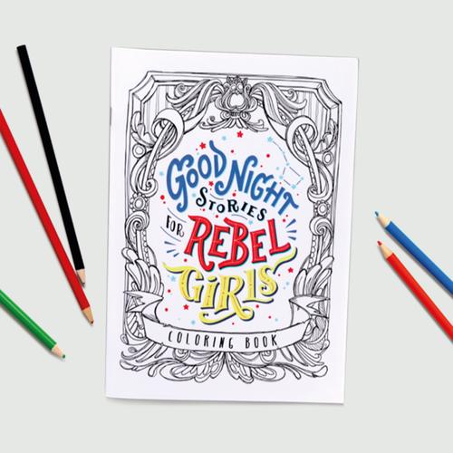 Rebel Girls: REBEL GIRLS COLORING BOOK SET