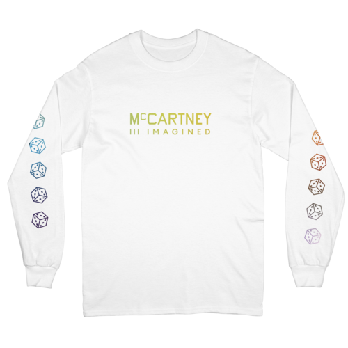 Paul McCartney: McCartney III Imagined White Longsleeve