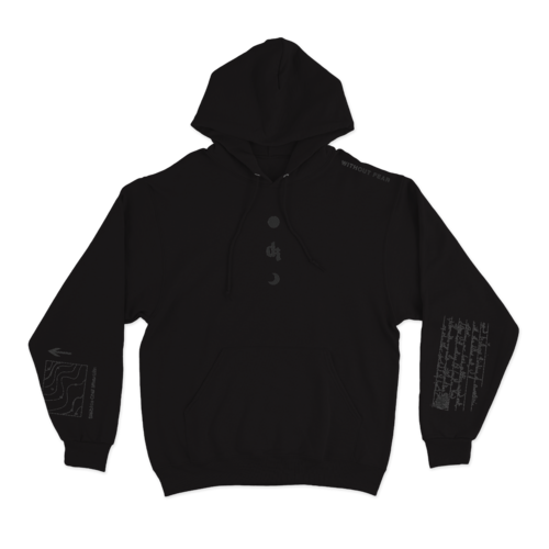 Dermot Kennedy: Wicklow Mountains Hoodie: Black on Black Edition