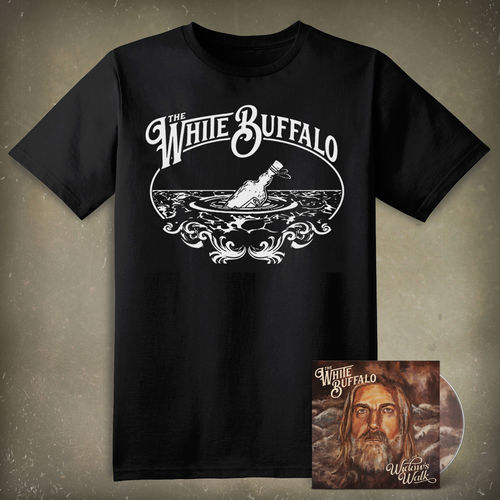 The White Buffalo: On The Widow's Walk CD & T-Shirt Bundle