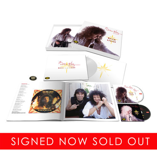 Brian May: Back To The Light Limited *SIGNED* Collectors Edition Boxset